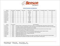 Benson Polymer Description